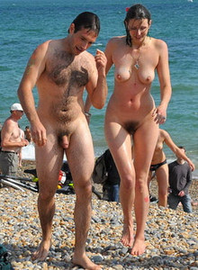People On A Nude Beach
